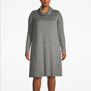 Crowl neck swing dress in plus size 26w 28w
